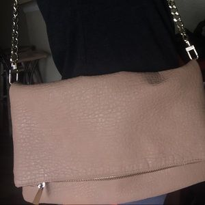 Express leather purse